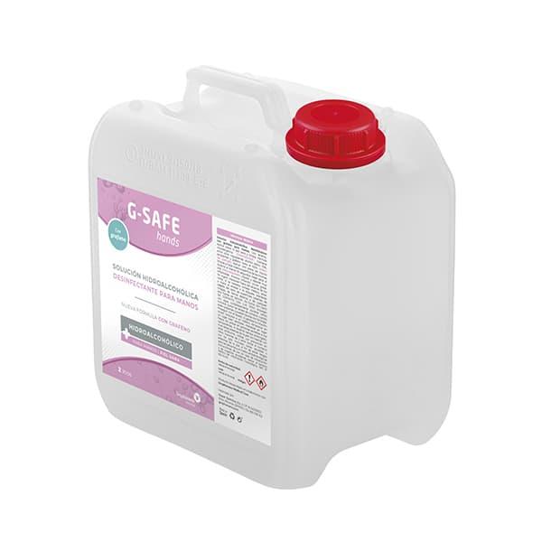 Gel hidroalcohólico para manos 2 litros G-SAFE Hands